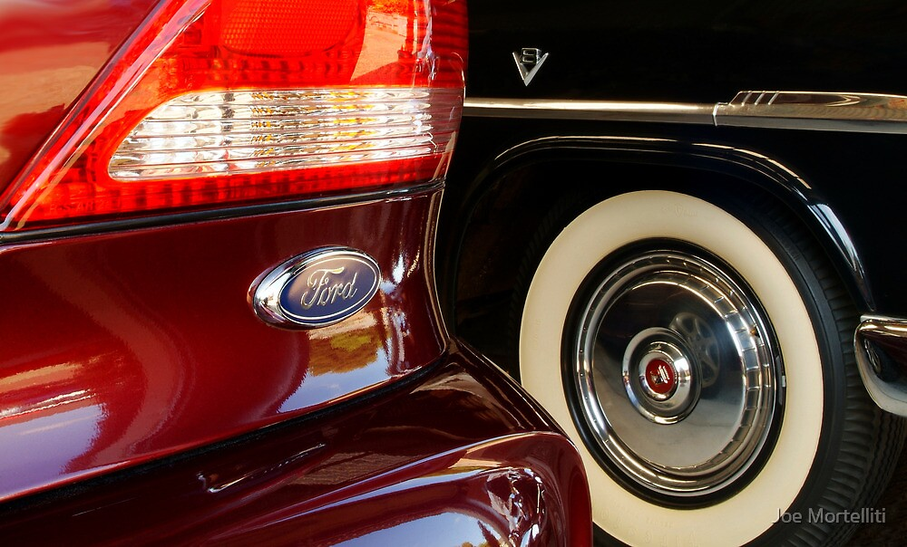 Two Fords by Joe Mortelliti