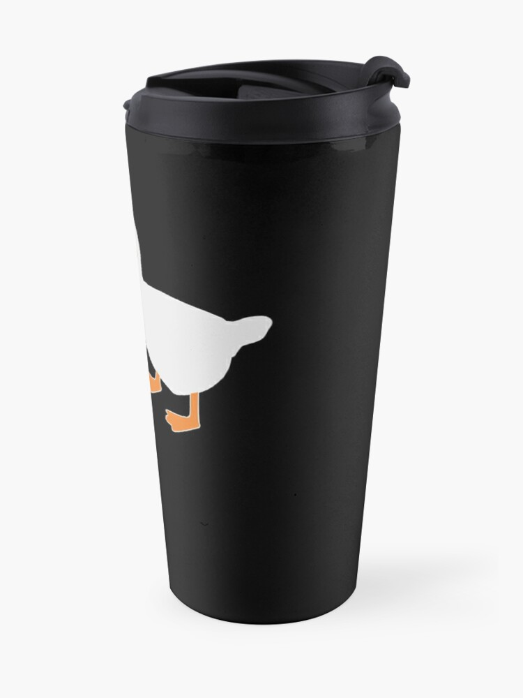 Alternate view of Peace Was Never An Option Goose Game Travel Mug