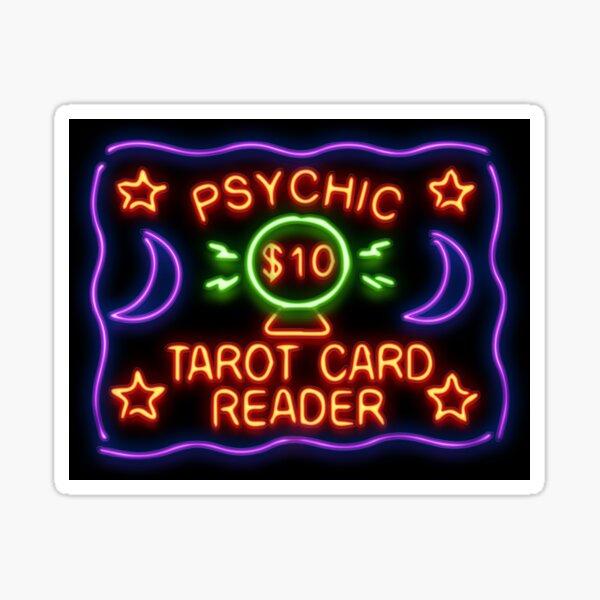 Psychic —Tarot Card Reader Sticker