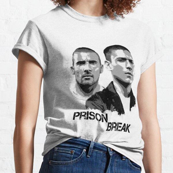 Illustration de la prison T-shirt classique