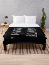 Lover Throw Blanket