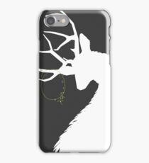 Hannibal Ravenstag Silhouette Charcoal iPhone Case/Skin