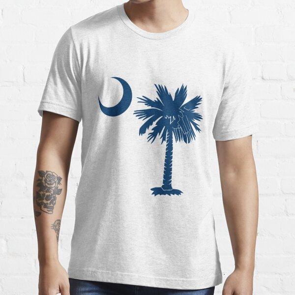 Blue Palmetto Moon Essential T-Shirt