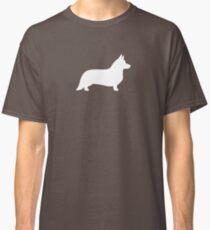 Cardigan Welsh Corgi Silhouette Classic T-Shirt