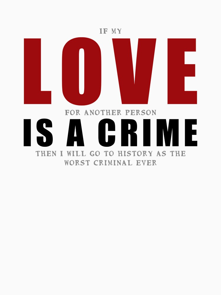 If LOVE is a CRIME... by andyrenard