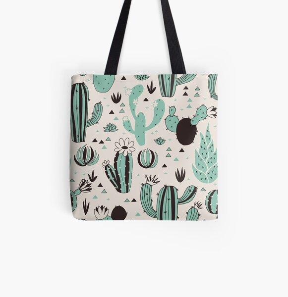 Cacti All Over Print Tote Bag
