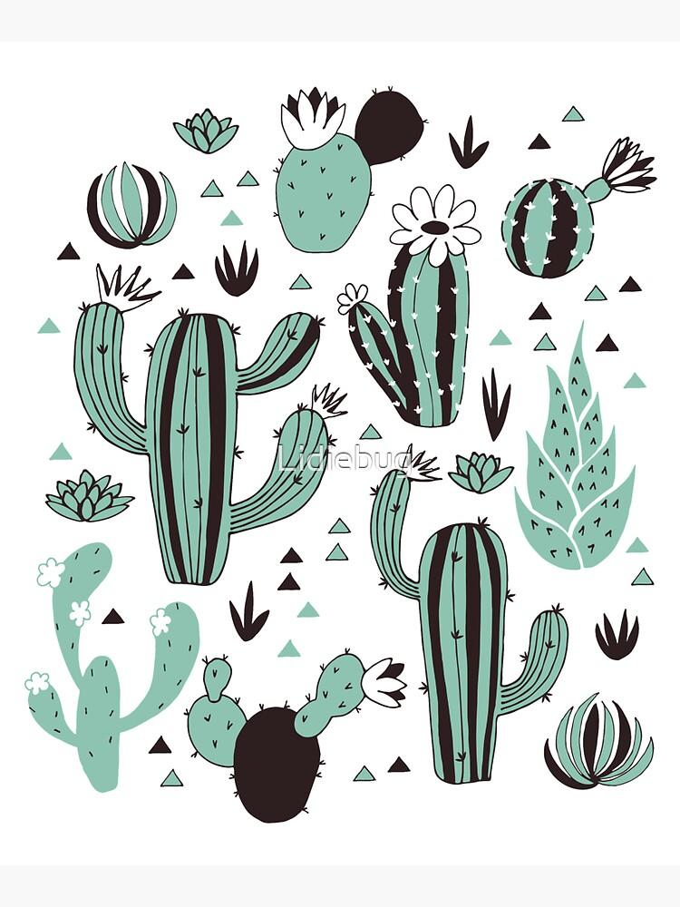 Cacti by Lidiebug