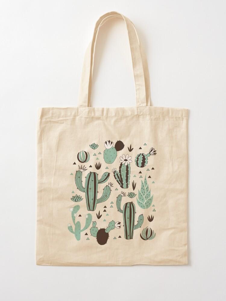 Alternate view of Cacti Tote Bag