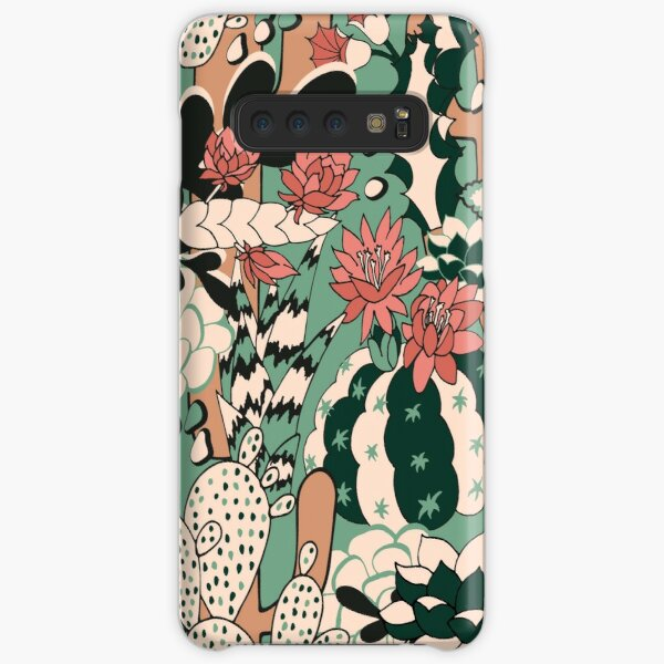 Cacti and Succulent  Samsung Galaxy Snap Case