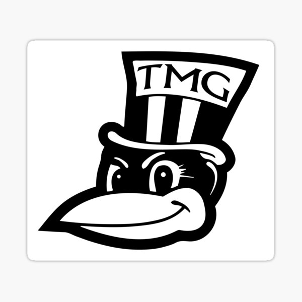 Large Magpie Group Logo Sticker