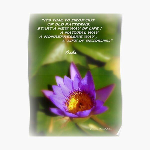 Osho's Words of Wisdom Poster
