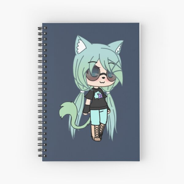 Gacha Life series - Chloe the Tomboy Spiral Notebook