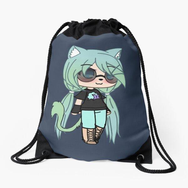 Gacha Life series - Chloe the Tomboy Drawstring Bag