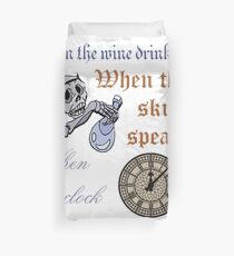 The Cat's Riddle Duvet Cover