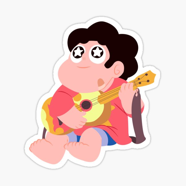 Baby Steven jamming Sticker