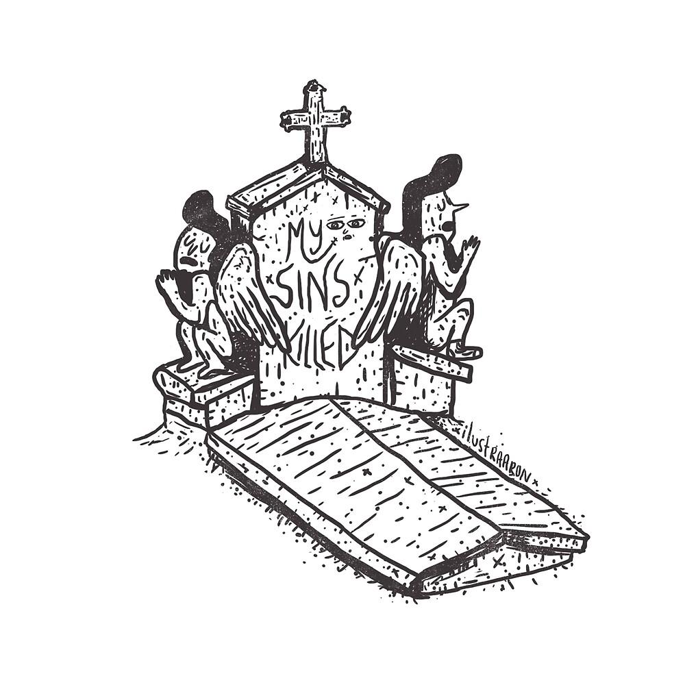 My Sins Killet  by ilustraaron
