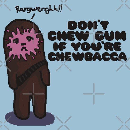 TShirtGifter presents: Chewbacca Chewing Gum