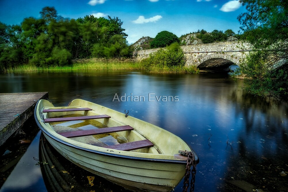 Old Boat by Adrian Evans