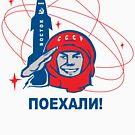 Yuri Gagarin (Поехали!) by losfutbolko