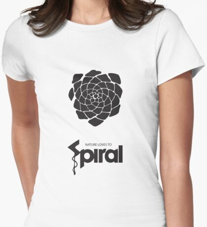 Nature Loves to Spiral 3 T-Shirt