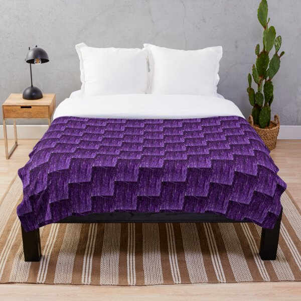 Purple Shimmer, Party Sparkles,  Throw Blanket