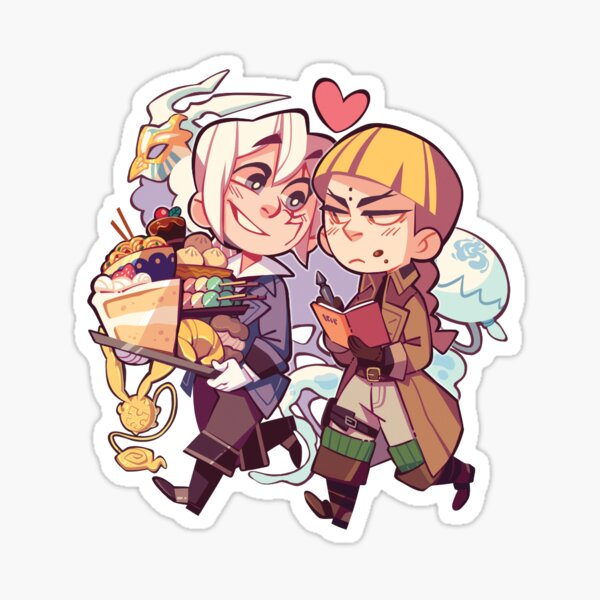 D.Gray-man - LinkLen Sticker
