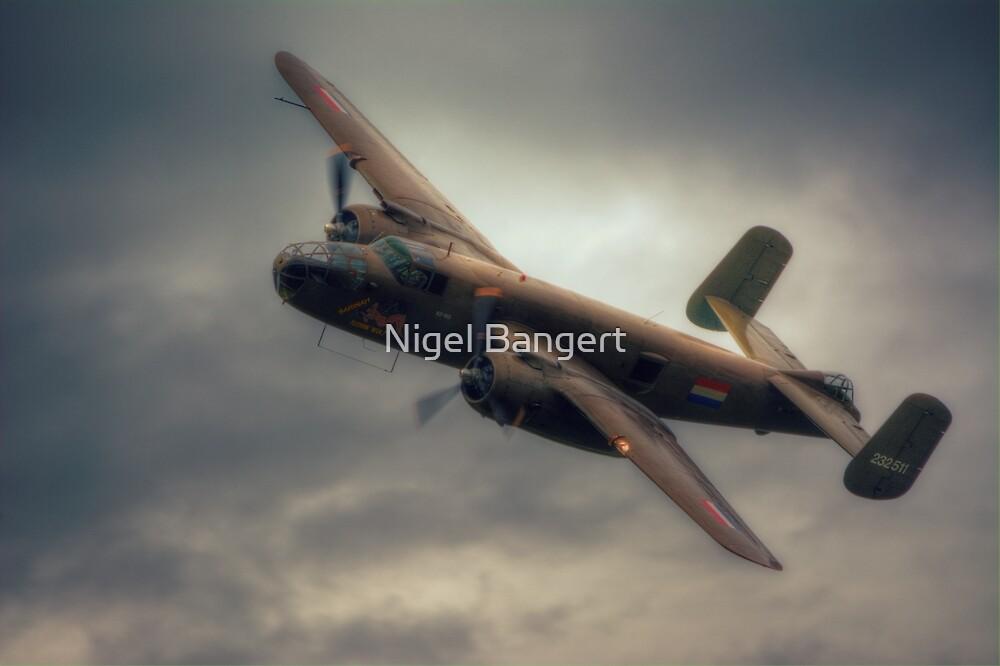 B-25 Mitchell Bomber by Nigel Bangert