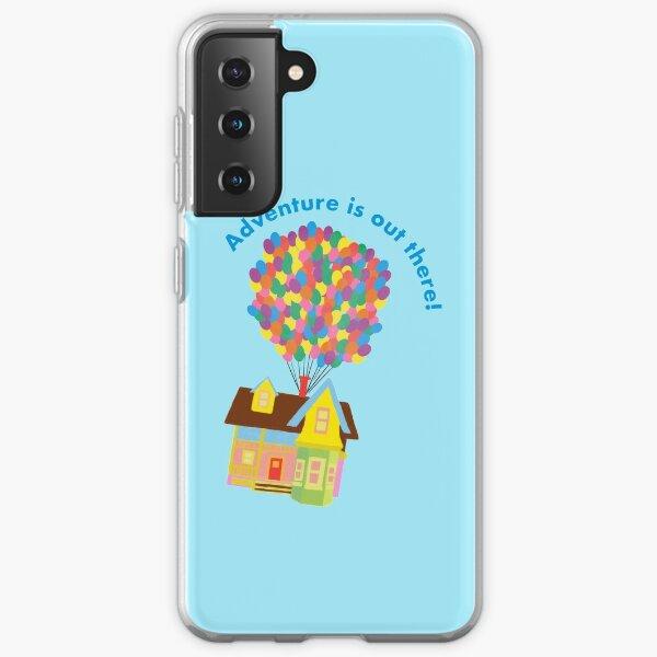 Balloon House Sticker Samsung Galaxy Soft Case