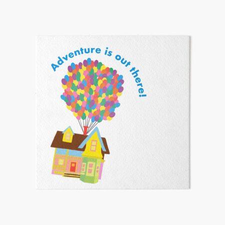 Balloon House Sticker Art Board Print