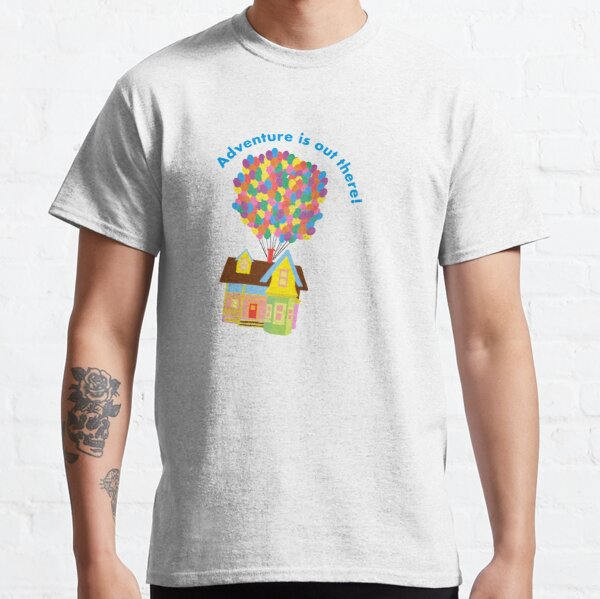 Balloon House Sticker Classic T-Shirt