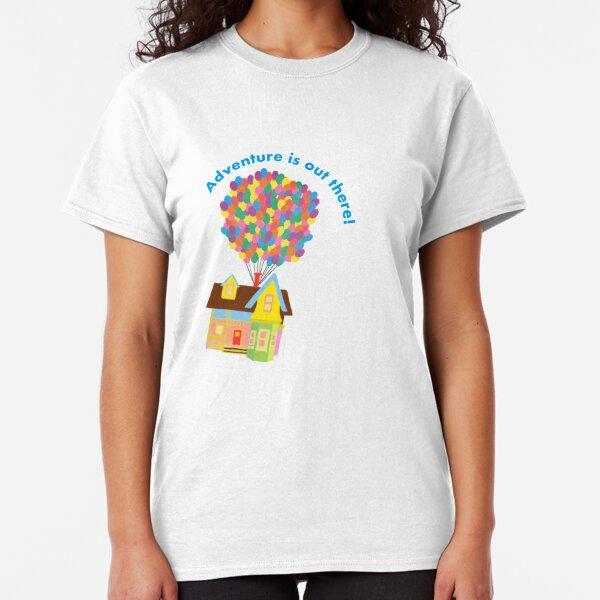 Balloon House Sticker Classic T-Shirt