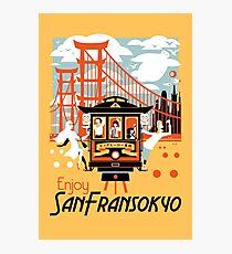Enjoy San Fransokyo Photographic Print