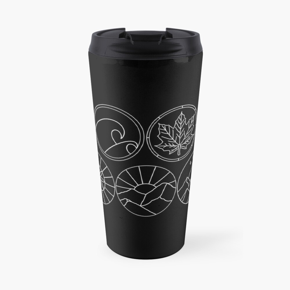 Prythian Courts Travel Mug
