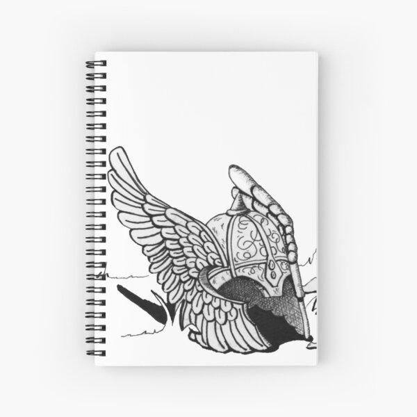 Helmet of Determination Spiral Notebook