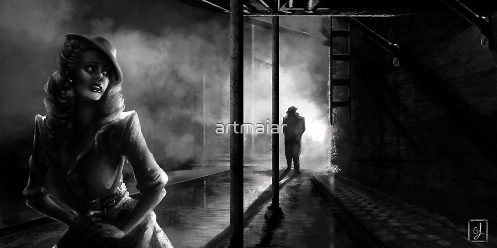 Stranger in the Alley by artmaiar