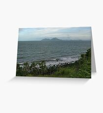 Dunk Island from Clump Point Greeting Card