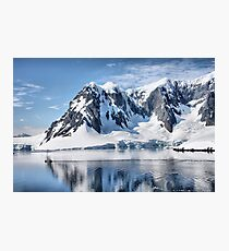 Antarctic Drive By Photographic Print