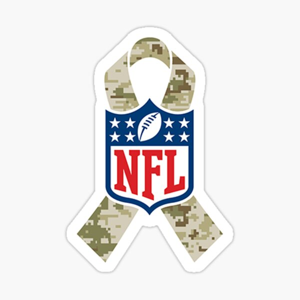 NFL Salute to Service Shield Sticker