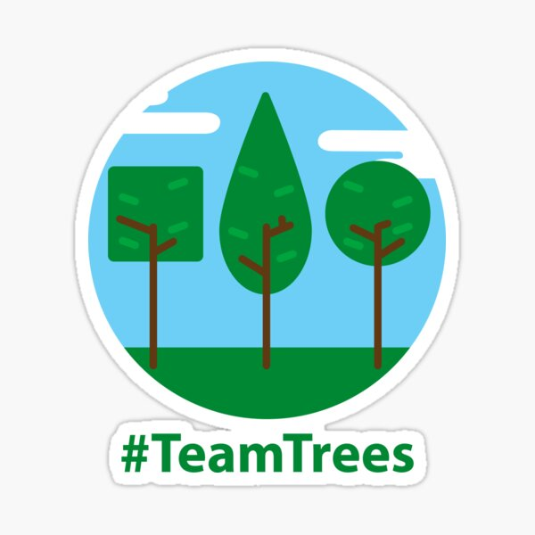 #TeamTrees Sticker