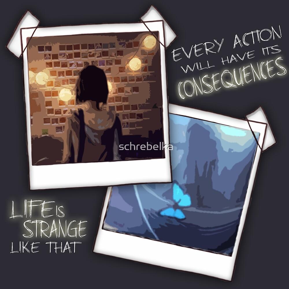 Strange Like That by schrebelka