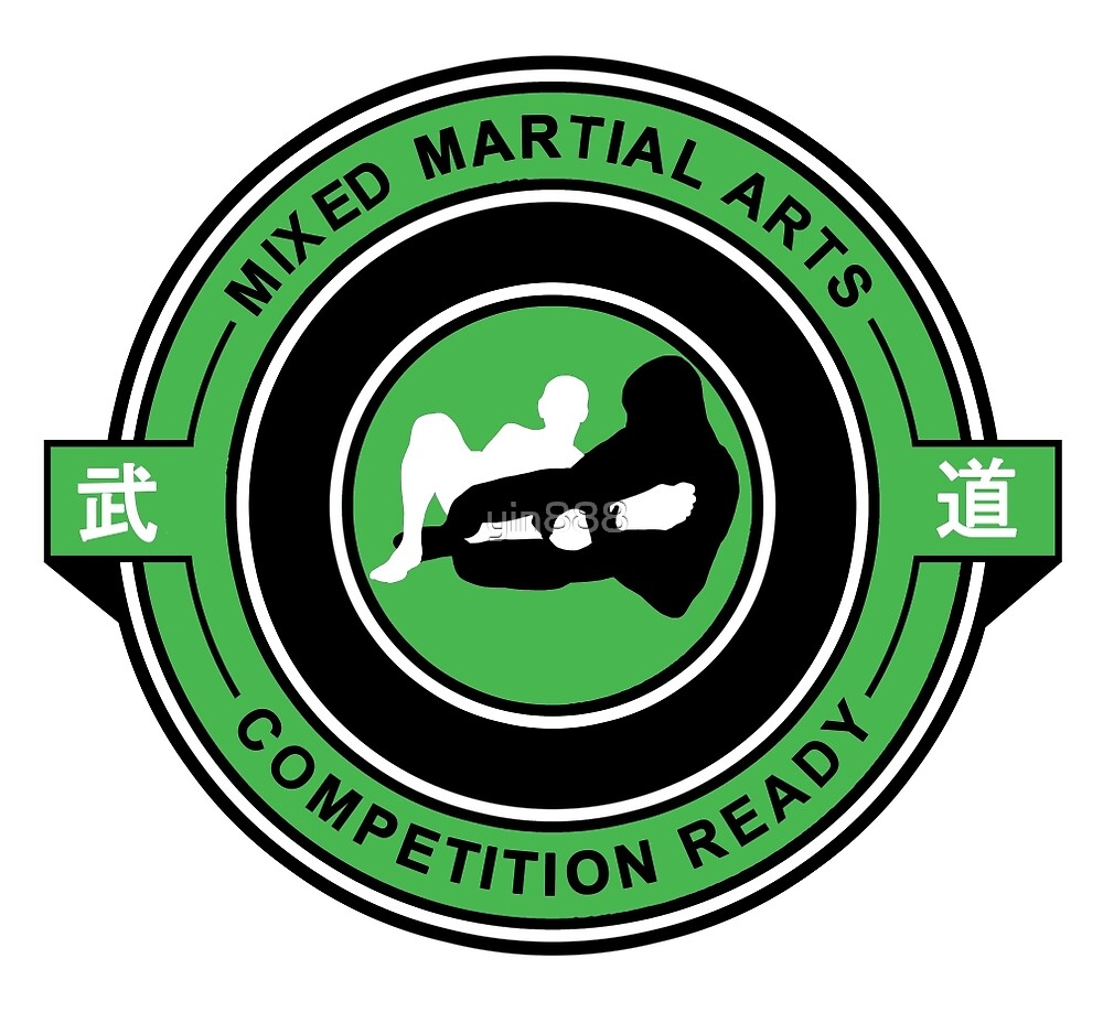 Mixed Martial Arts Competition Ready Kneebar Green  by yin888