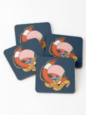 Mona Pass Sailor Coasters