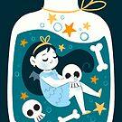 Bottled Vampire by lobomaravilha