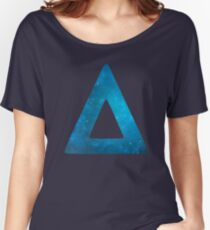 Bastille Galaxy Triangle Women's Relaxed Fit T-Shirt