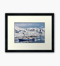 Argentinian Antarctic Station Framed Print