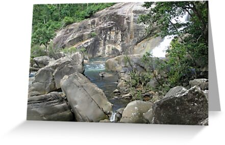 The Pool at the Bottom of Murray Falls by STHogan
