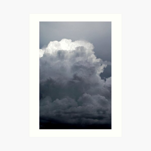 Way up there Where the Glory Shines. Art Print