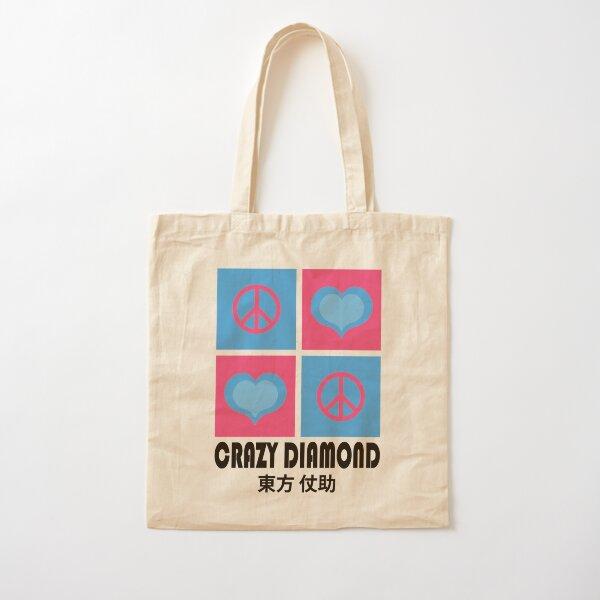 IUD   Crazy diamond Cotton Tote Bag