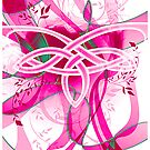Celtic Twist Pink by Smurfesque