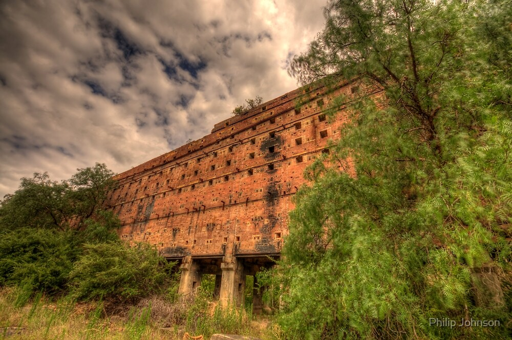 Man O War - Oil Shale Mine Ruins - Glen Davis - The Capertee Valley - The HDR Experience by Philip Johnson